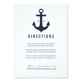 Nautical Theme | Weddings Card