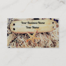 Nautical Themed Business Cards