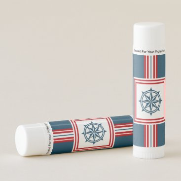 Beach Themed Nautical themed design lip balm