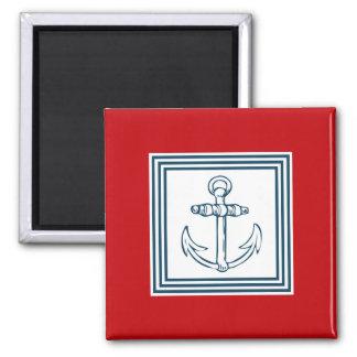 Nautical themed design magnet