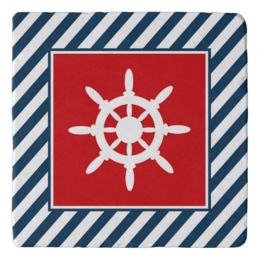 Beach Themed Nautical themed design trivet