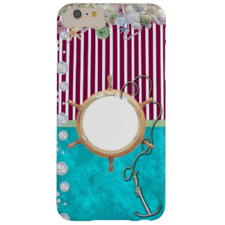 Nautical themed iPhone case. Barely There iPhone 6 Plus Case