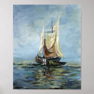 Nautical Themes Poster