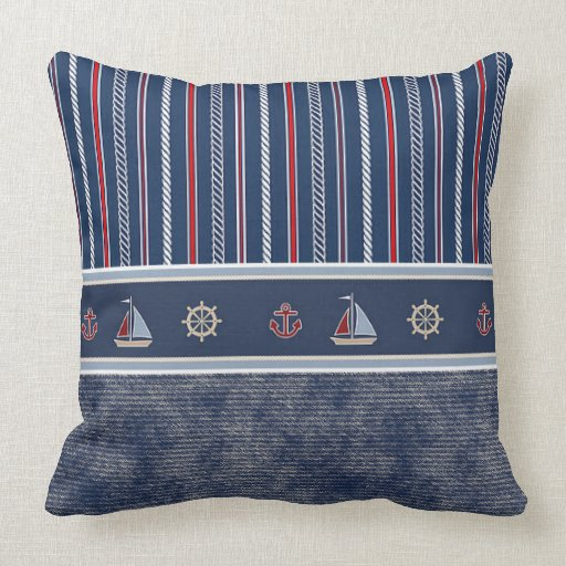 Nautical Throw Pillows For Couch :