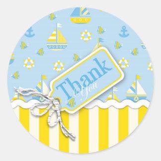 Nautical TY Sticker
