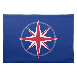 Nautical UK Flag Place Mats