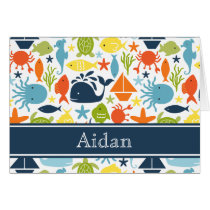 Nautical, Under the Sea Personalized Thank You Card