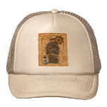 Nautical Vintage Ship And Map Trucker Hat