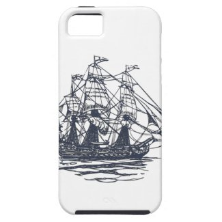 Nautical Vintage Ship Case iPhone 5 Cover