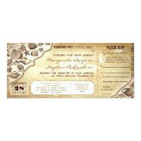 nautical wedding boarding pass tickets invitations (<em>$2.52</em>)