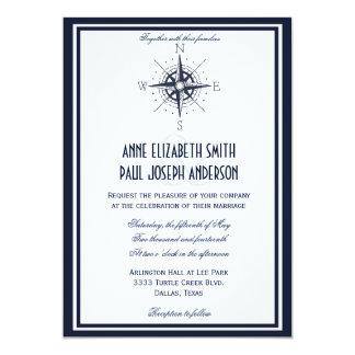 Nautical Wedding Invitation VII
