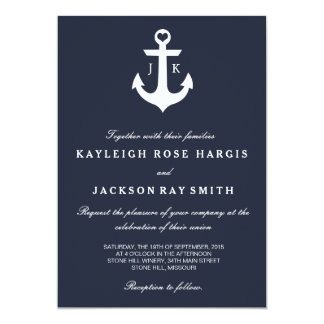 Nautical Wedding Invitations Announcements Zazzle