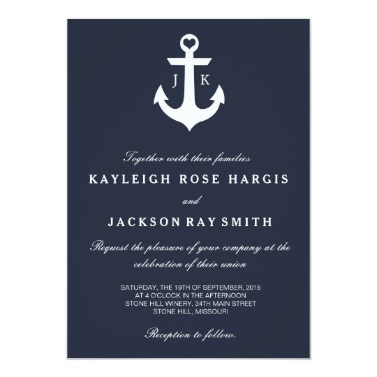 Sailboat Wedding Invitations: Nautical Wedding Invitations