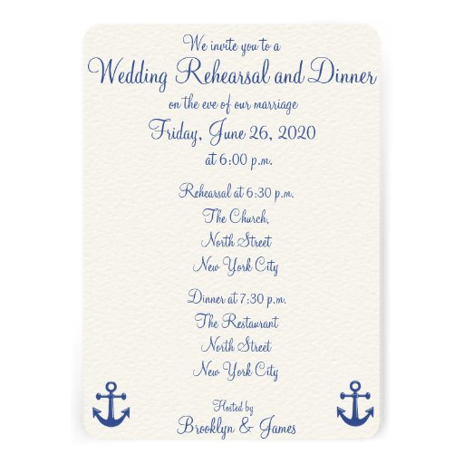Personalized Nautical wedding Invitations CustomInvitations4Ucom