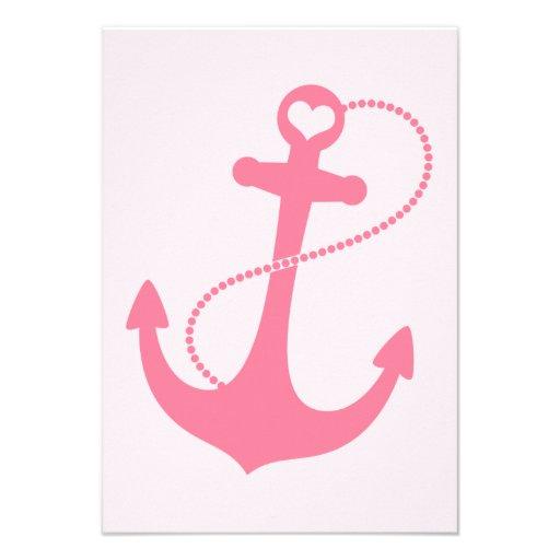 Nautical Wedding RSVP Personalized Invite