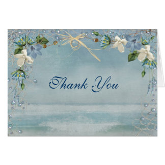 Nautical Wedding Thank You Card