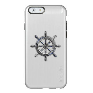 Nautical Wheel Theme Design Incipio Feather® Shine iPhone 6 Case
