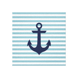Nautical wrapped canvas stretched canvas prints