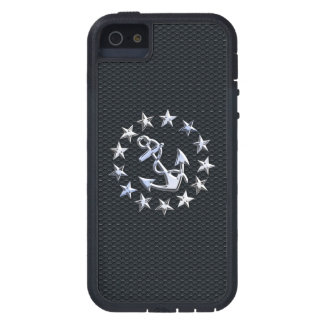 Nautical Yacht Flag Chrome Ensign on Grille Print Case For iPhone SE/5/5s