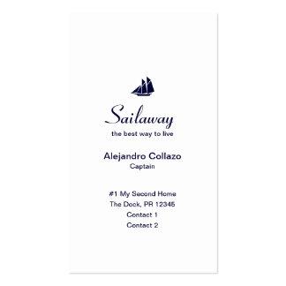 Nautical Yacht Seaside Business Card Template