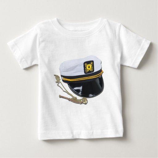 NauticalHatWhistle112010 Baby T-Shirt