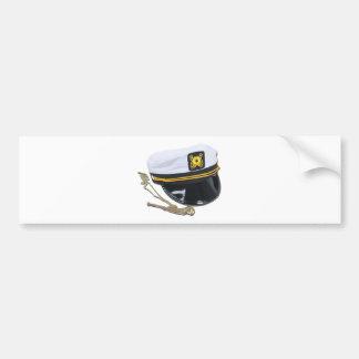 NauticalHatWhistle112010 Bumper Sticker