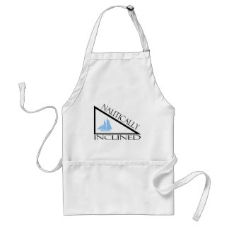 Nautically Inclined Adult Apron