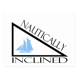 Nautically Inclined Postcard