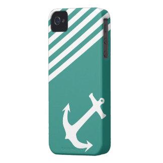 Náutico verde atlántico iPhone 4 Case-Mate coberturas