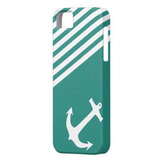 Náutico verde atlántico iPhone 5 Case-Mate funda
