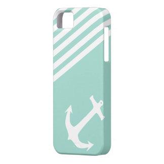 Náutico verde de la libertad iPhone 5 carcasa