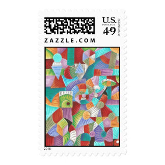 Nauticus Fibonacci Postage Stamps