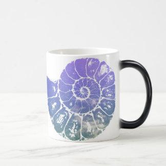 Nautilis ocean 11 oz magic heat Color-Changing coffee mug