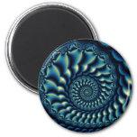 Nautilus 2 Inch Round Magnet
