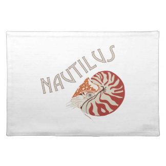 Nautilus Animal Cloth Place Mat