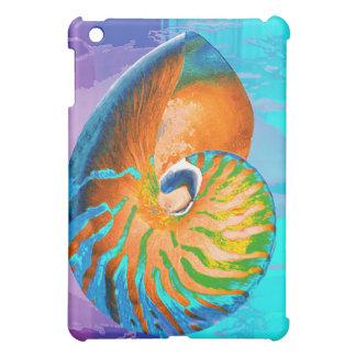 Nautilus blue case for the iPad mini