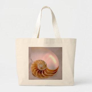Nautilus compartimentado bolsa tela grande