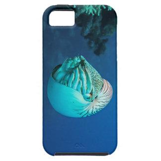 Nautilus en la gran barrera de coral funda para iPhone 5 tough