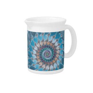 Nautilus - Fractal Art Beverage Pitchers
