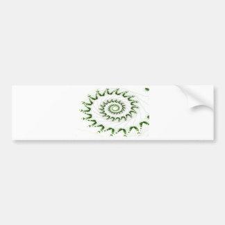 Nautilus Fractal Art Bumper Stickers
