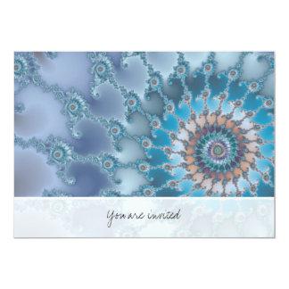 Nautilus - Fractal Art Card