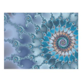 Nautilus - Fractal Art Postcard