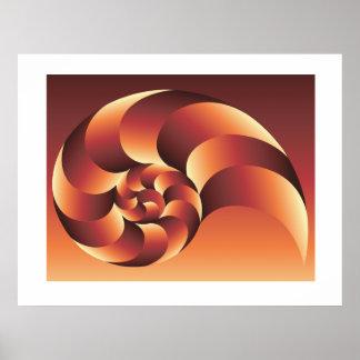 Nautilus Gradient poster