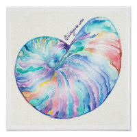 Nautilus Infinity Fine Art Print and Poster print