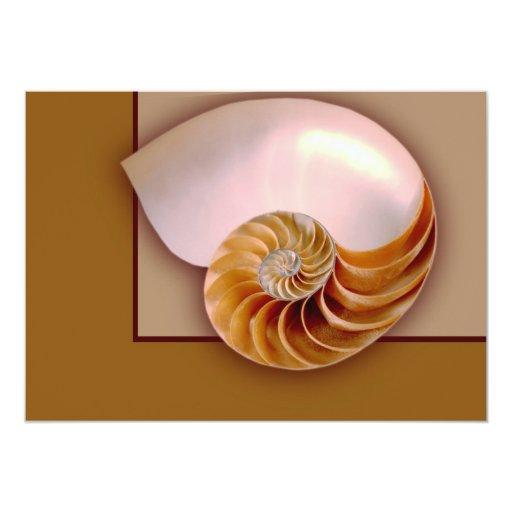 Nautilus interior invitacion personal