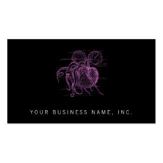 Nautilus (letterpress style) Double-Sided standard business cards (Pack of 100)