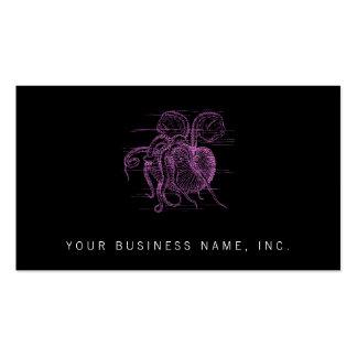 Nautilus letterpress style business card