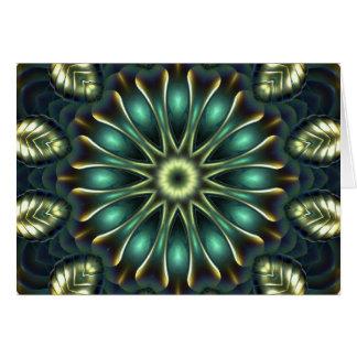 Nautilus Mandala 2 Card
