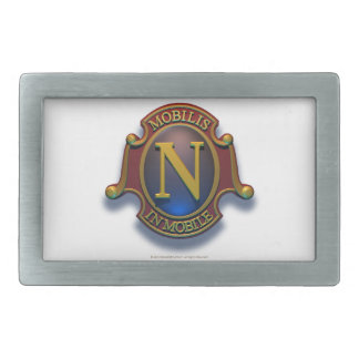 Nautilus N Shield by David McCamant Belt Buckle