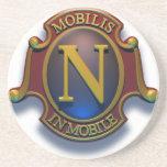 Nautilus N Shield by David McCamant Coasters